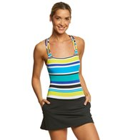 Nautica Coastline Stripe Swimdress