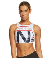 Nautica Heritage High Neck Bikini Top
