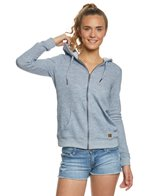 Roxy Trippin Zip Up Hooded Fleece
