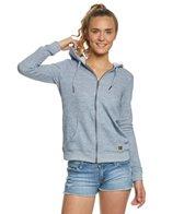 Roxy Trippin Zip Up Hooded Fleece