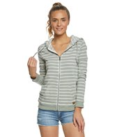 Roxy Trippin Stripe Zip Up Hooded Fleece