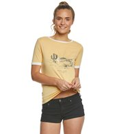 Roxy Puerto Pic Golden Sunset Tee