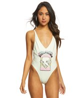 Billabong Women's Reissue One Piece Swimsuit