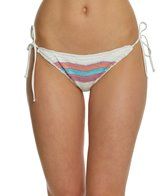 Spiritual Gangster Rainbow Crochet Tie Side Bikini Bottom