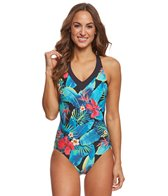 Amoena Palmeira Mastectomy One Piece Swimsuit