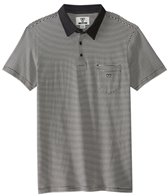 Vissla Men's Spokes Short Sleeve Polo Shirt
