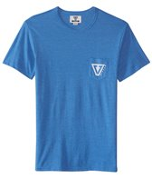 Vissla Men's Established Snow Heather Short Sleeve Tee