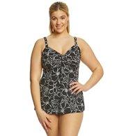 Miraclesuit Plus Size Savannah Roswell Tankini Top