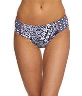 Tommy Bahama Paisley Paradise Reversible High Waist Bikini Bottom