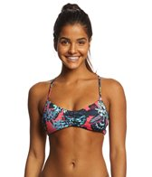 Roxy Women's Salty Roxy Athletic Triangle Bikini Top