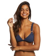 Roxy Women's Waves Only Fixed Triangle Bikini Top