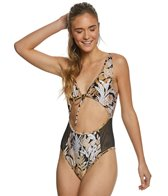MINKPINK Tropical Punch Mesh One Piece Swimsuit