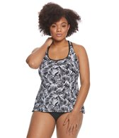Beach House Plus Size Cape Palm Evelyn Tankini Top
