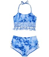 Gossip Girl Girls' Jean Addiction Bikini (Big Kid)