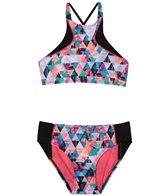 Gossip Girl Girls' Kaleiodoscope Daydream Bikini (Big Kid)