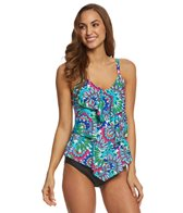 Ceeb Wild Flowers Tankini Top