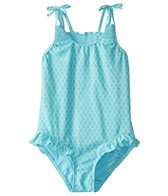 Hula Star Girls' Mermaid Princess One Piece Swimsuit (Toddler, Little Kid)