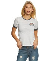 Rip Curl Women's Snow Days Ringer Short Sleeve Tee
