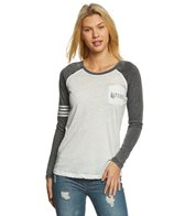 Rip Curl Women's Surf Check Long Sleeve Pocket Tee