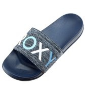Roxy Women's Slippy Textile Slide Sandal
