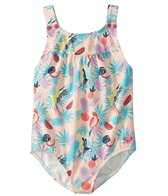 Roxy Girls' Vintage Tropical One Piece Swimsuit (Toddler, Little Kid)