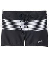 Speedo Men's Stripe Splice Square Leg Swimsuit
