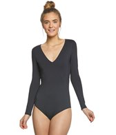 Volcom Project 0 Simply Seamless L/S One Piece Swimsuit