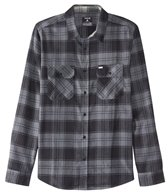Hurley Men's Dri-Fit Cora Flannel Long Sleeve Sleeve Woven Shirt