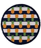 Round Towel Company The Nautical Pineapple Round Towel