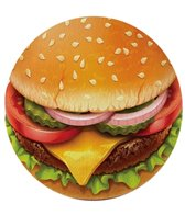 Round Towel Company The Sandy Buns Burger Round Towel