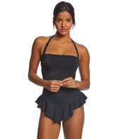 Coco Rave Solid Audrey Bandeau Swimdress