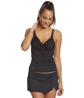 Anne Cole Twist Front Underwire Tankini Top
