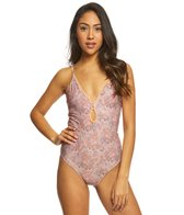 O'Neill Calvin Floral One Piece Swimsuit