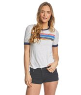 Rip Curl Women's Surforama Ringer Tee