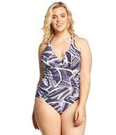 83925299c8e7b La Blanca Plus Size Bali Hai Halter Goddess Tankini Top at ...