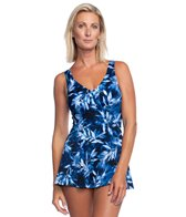 7e9563947416 Maxine Linework Swim Romper at SwimOutlet.com - Free Shipping