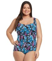 maxine-plus-size-prairie-dreams-chlorine-resistant-shirred-girl-leg-one-piece-swimsuit
