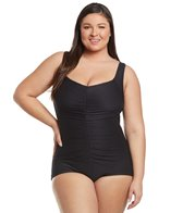 maxine-plus-size-chlorine-resistant-shirred-girl-leg-one-piece-swimsuit