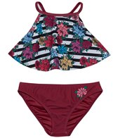 66e9fec410 Limeapple Swimwear Girls' Lucia Anchor Tankini Set (7yrs-16yrs) at ...
