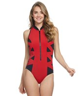 853df2cf53a Magicsuit by Miraclesuit Mesh Anastasia Underwire High Neck One ...