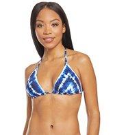 e84287f058 Lucky Brand Sunset Boulevard Reversible Triangle Bikini Top at ...