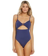 e65618bfe4f39 Hurley City Sleek One Piece Swimsuit at SwimOutlet.com - Free Shipping