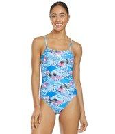 c1a12451e6a Amanzi Womens Purple Plaid One Piece Swimsuit at SwimOutlet.com ...