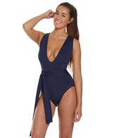 vince-camuto-tropic-tones-belted-plunge-one-piece-swimsuit