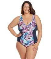 dolfin-womens-plus-size-aquashape-wisteria-v-neck-chlorine-resistant-one-piece-swimsuit