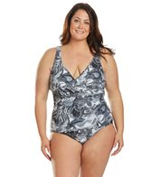 dolfin-womens-aquashape-desert-storm-ruched-front-chlorine-resistant-one-piece-swimsuit