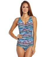 gabar-chlorine-resistant-pixel-painted-stripe-girl-leg-one-piece-swimsuit