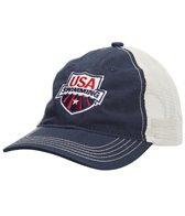 usa-swimming-mesh-back-cap
