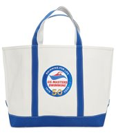 usms-50th-anniversary-zip-top-canvas-tote-bag