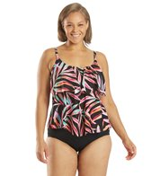 maxine-plus-size-painted-palm-tiered-tankini-top